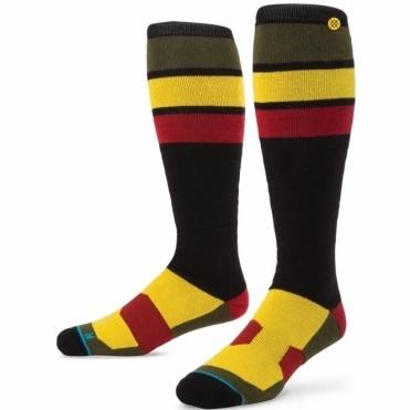 Snowboard Socks - Rasta Jam