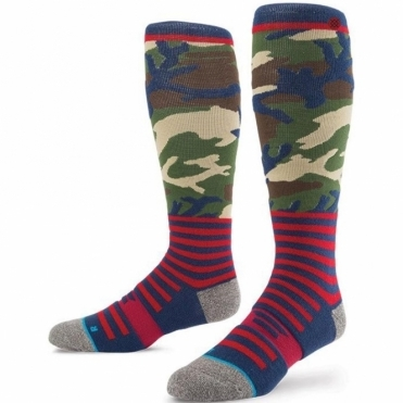 Snowboard Socks - Redbone