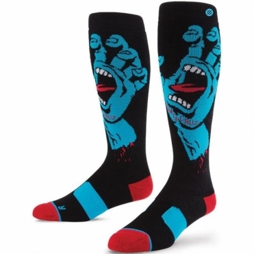 Snowboard Socks - Screaming Hand