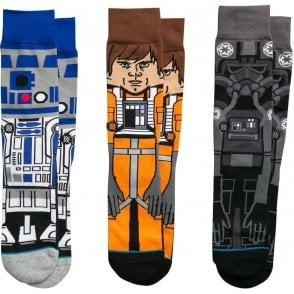 Star Wars Socks - A New Hope Triple Pack