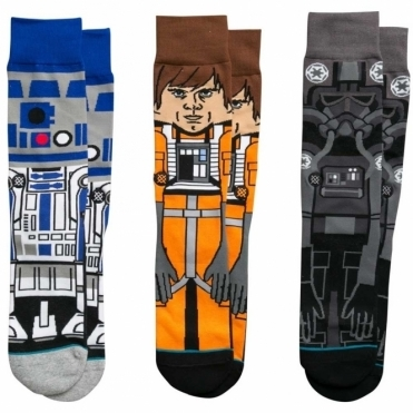 Stance Star Wars Socks - A New Hope Triple Pack