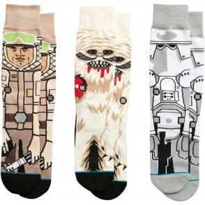 Star Wars Socks - Empire Strikes Back Triple Pack