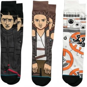 Star Wars Socks - The Force Awakens Triple Pack