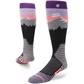 Stance Women's Snow Socks - White Caps