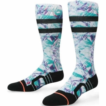 Stance Women's Snowboard Socks - Typhoon