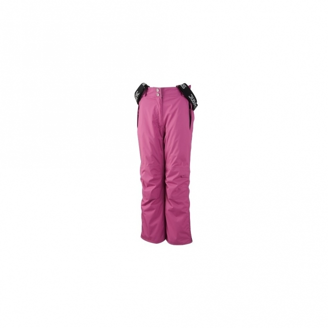Surfanic Bib Snowboard Pants - Blackcurrant