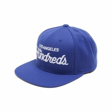 The Hundreds Forever Team Snapback - Blue