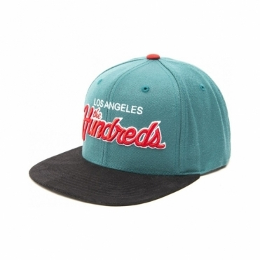 Team Two Snapback - Turquoise