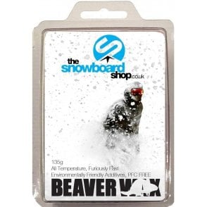 The Snowboard Shop Beaver Collab Wax