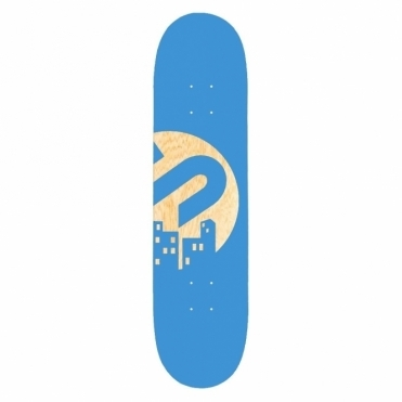 Team Skateboard Deck - Blue