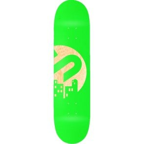 The Snowboard Shop Team Skateboard Deck - Green