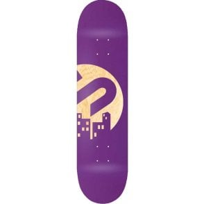 The Snowboard Shop Team Skateboard Deck - Purple