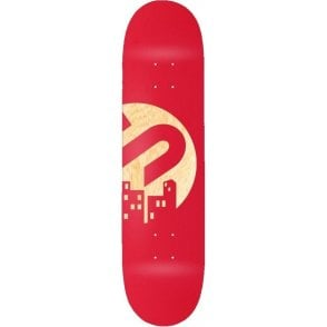 The Snowboard Shop Team Skateboard Deck - Red