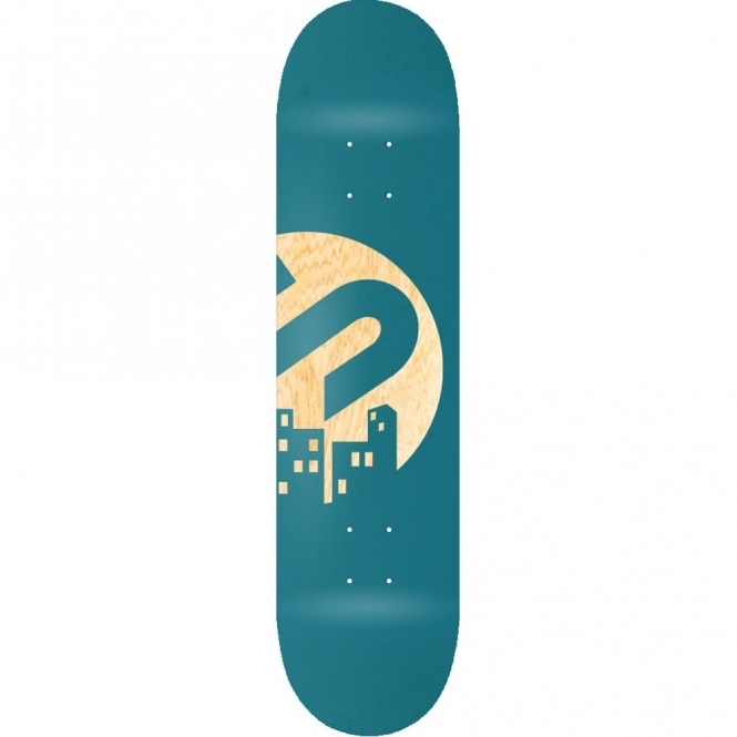 The Snowboard Shop Team Skateboard Deck - Teal