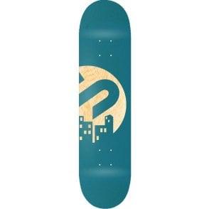Team Skateboard Deck - Teal