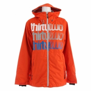 Shakedown Snowboard Jacket - Orange