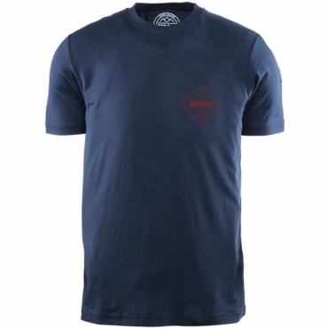 Thirtytwo Stockade Tee - Blue