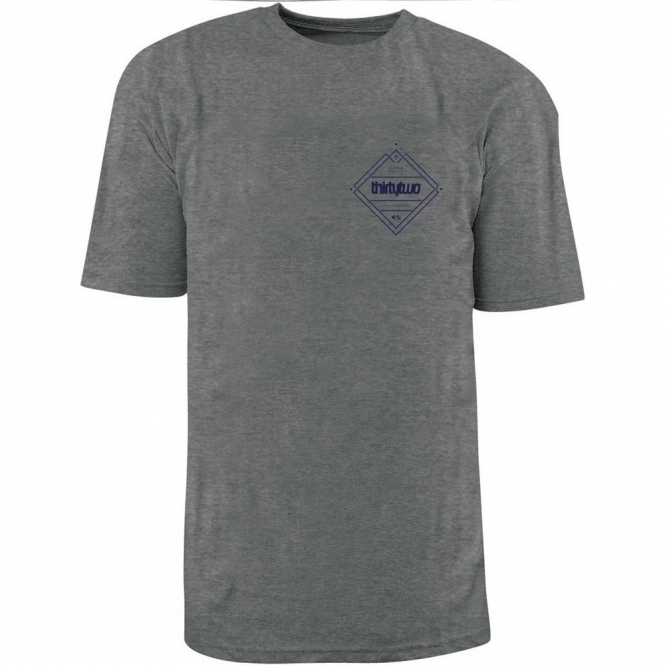 Thirtytwo Stockade Tee - Grey