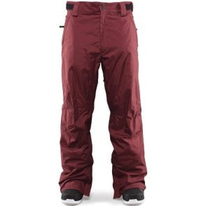 Wooderson Snowboard Pants - Burgundy