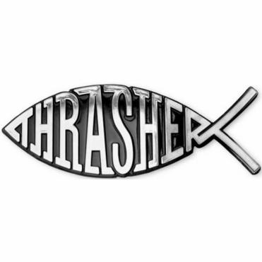 Thrasher Jesus Fish