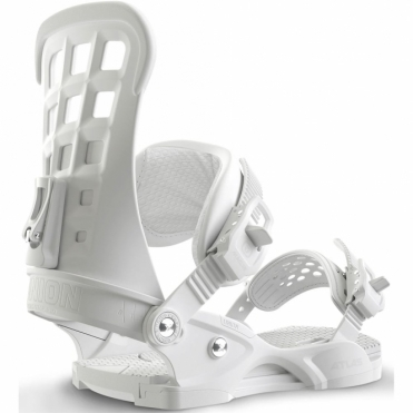 Atlas Snowboard Bindings - White