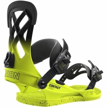 Union Contact Pro Snowboard Bindings - Volt Yellow