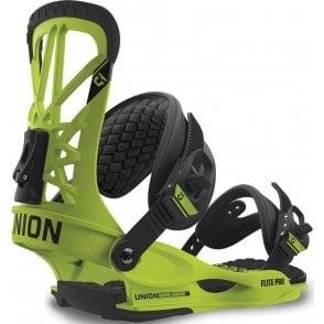 Flite Pro Snowboard Bindings - Green