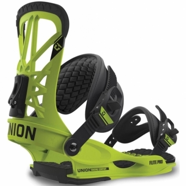 Flite Pro Snowboard Bindings - Green