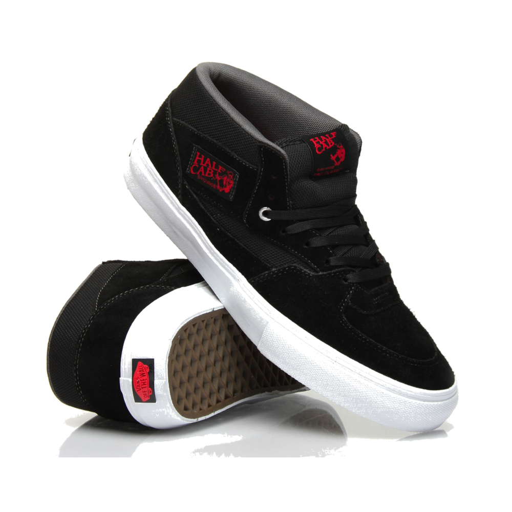 eb47a801b9 Vans Half Cab Pro - Black Red Charcoal - Vans from The Snowboard Shop UK