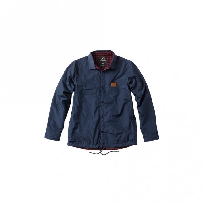 Vans Jonesport Coaches Jacket - Black/Iris/Russet
