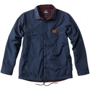 Jonesport Coaches Jacket - Black/Iris/Russet
