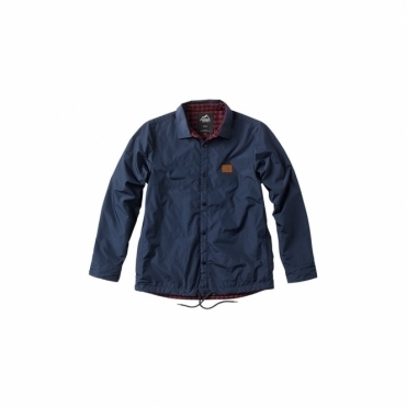 Vans Jonesport Coaches Jacket - Black/Iris/Russet