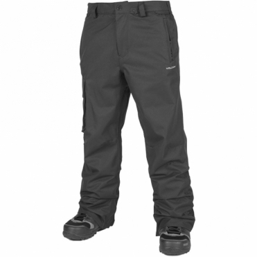 Volcom Men's Ventral Snowboard Pants - Black