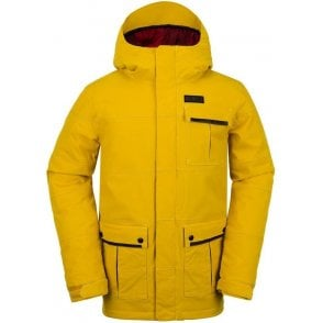 Pat Moore Insulated Snowboard Jacket - Yellow