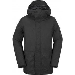 Utilitarian Jacket -Black