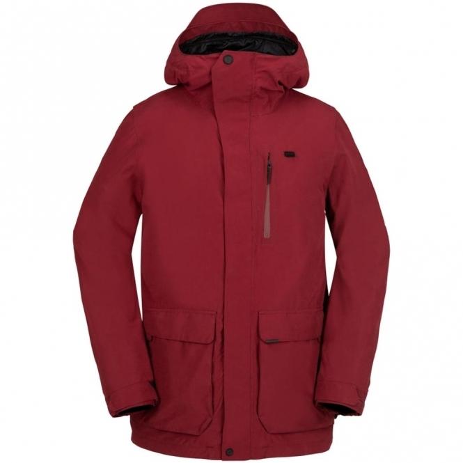 Volcom Utilitarian Jacket - Blood Red