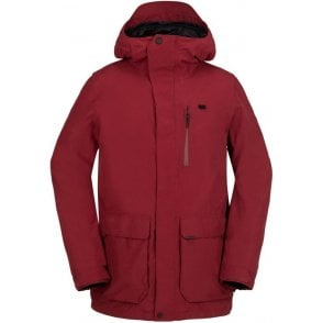 Utilitarian Jacket - Blood Red
