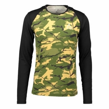 WearColour Men's Guard LS Jersey - Forest