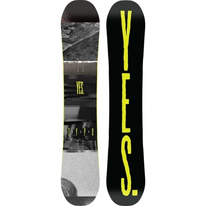 Yes Typo Snowboard 156 Wide