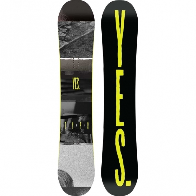 Yes Typo Snowboard 161