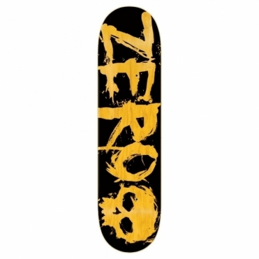 Zero Blood Black Yellow PP Deck 8.25""